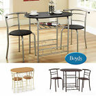 Compact Dining Table Chairs Dining Set Apartments Flats Students HMO's