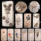 Bling Crystals Diamonds TPU Soft Transparent Back Case Cover For Samsung #1