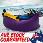 2 X Air Sleeping Bag Lazy Chair Lounge Beach Sofa Inflatable Camping  AUS STOCK!