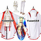 Fate Grand Order Illya Irisviel Cosplay Costume Outfit White Dress