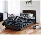 Oakland Raiders NFL Bedding Set twin full queen comforter sheets bed in a bag