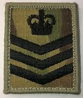 British Army & Royal Marines MTP / Multicam Rank Patch / Badge UBACS & ID panelsBritish - 67580
