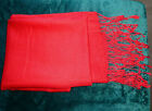 Gregory Ladner Australia Red Pashmina - New without tags