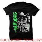 PUNK ROCK THE METEORS 110% PURE PSYCHOBILLY T SHIRT MEN'S SIZES