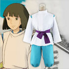 Anime Miyazaki Hayao Spirited Away Haku cosplay costume Custom New Free Shipping
