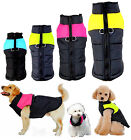 Внешний вид - Winter Warm 8-Sizes Dog Clothes Padded Coat Pet Vest Jacket Waterproof for Dogs
