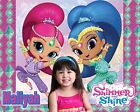 Custom Shimmer & Shine T shirt / Item with your Photo! Genie
