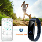 Smart Fitness Sport Health Wrist band Watch Bluetooth Bracelet Pedometer Tracker