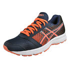 Asics Patriot 8 Womens Running Shoes Fitness Gym Trainers Navy