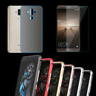 CNC Metal Bumper + Tempered Glass Screen Protector + Back Film for Huawei Mate 9