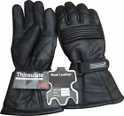 Winter Leather Thermal Lined Biker Motorbike Motorcycle Waterproof Gloves R A X