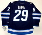 PATRIK LAINE WINNIPEG JETS REEBOK NHL PREMIER HOME JERSEY NEW WITH TAGS