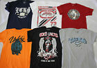 NWT LOT OF 12 ECKO UNLTD. MEN'S LIMITED EDITION ASST PRINTED S/S T-SHIRTS L-XL