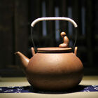 Ocean Meditation Ceramic Brown Stovetop Tea Kettle with Filter 1500ml 52oz