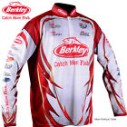 BERKLEY Mens PRO TOURNAMENT Long Sleeve FISHING SHIRT - Choose Size - SPF 30+
