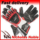 RST R-16 1062 Red Semi-sports Full Grain Leather Gloves