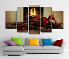 Framed Wall Canvas Art - Deadpool Merc With A Mouth Marvel Comic Super Hero