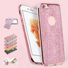 2in1 Luxury Glitter Glossy Shockproof Silicone Case Cover for iPhone 6 6s 7 Plus