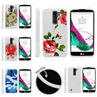 For LG K7 | LG Tribute 5 | LG Treasure Slim Fitted Flexible TPU Case Red Roses