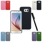 Color Quicksand Scrub Hard Back Case Cover Skin Protector F Samsung Galaxy S6 s1