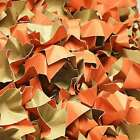 (EUR 0,22/L-EUR 0,24/L) DECOFILL ORANGE Papier Verpackungschips Polsterchips