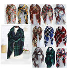Hot style British-style wind cashmere scarf shawl thickening square lady scarf