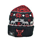 New Era Chicago Bulls NBA Men's Winter Knit Beanie Black/White/Red