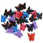 Mini Peg Chalkboard Sign Butterfly 4 Bright Colours Edge Price Ticket Gift Tag