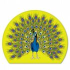Peacock Colorful Car Vinyl Sticker - Select Size