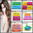 18pcs Hair Curlers Twist Spiral Circle Curlformers Magic Rollers Styling Tools