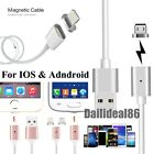 Magnetic Adapter Charger USB Charging Cable For iPhone/iPad/Samsung/LG US Stock