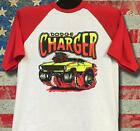 Vintage '69 Rats Hole Original Dodge Charger transfer on baseball3/4 sleeve RARE