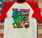 Vintage '69 Rats Hole Original It's True transfer on baseball 3/4 sleeve RARE T