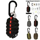 14 Tools Survival Kit 550 Paracord Grenade EDC Outdoor Fishing Camping Gear Kit