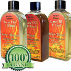 100% Pure Natural Base Body Massage Oil Bath Skin Muscle Relax Relief  100ml