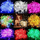 32FT 100 LEDs LED Christmas Tree Fairy String Party Lights Lamp Xmas Waterproof