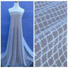 Off white/wine/black/ivory beading wedding dress lace fabric 51'' width by yard