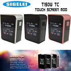 AUTHENTIC SIGELEI T150 VTC Touch Screen Mod - 150w TC - Black, SS, or Rose Gold