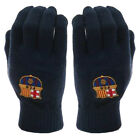 FC Barcelona Barca Knitted Football Fan Gloves Adult Navy Blue