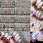 BORN PRETTY  Rectangle Nail Art Stamping Template Plates BPL001-L057