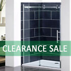 2000mm Frameless Sliding Shower Door Enclosure and Tray Panel 8mm Glass Screen