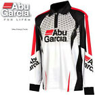 ABU GARCIA Mens PRO TOURNAMENT Long Sleeve FISHING SHIRT Choose Size UPF 30+