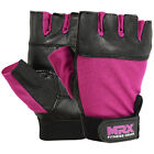 Weight Lifting Gloves Gym Women Glove Crossfit Exercise Genuine Leather Burgundy