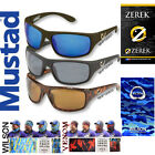 Mustad Polarized Polarised Fishing Sunglasses by Hank Parker MHP100 + Head Sock