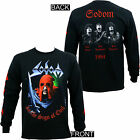 Authentic SODOM In The Sign of Evil Long Sleeve T-Shirt Black S M L XL 2XL NEW