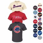 MLB Authentic Wordmark Team Logo T Shirt Collection Men's