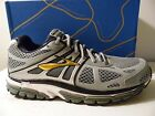 BROOKS BEAST 14' RUNNING SHOES SIlver/Gold Men's US Size 11 EUR 45 BNIB