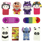 New 3D Cartoon Back Cover Soft Silicone Case For Apple iPhone 7/7 Plus 6 6S Plus