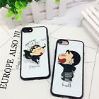 New Shin-chan Cover Soft TPU Case With Lanyard For Apple iPhone 6 6S 7 7 Plus