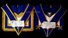 masonic regalia-CRAFT-CRAFT PROVINCIAL DRESS & UNDRESS APRONS + COLLAR  PACKAGES
